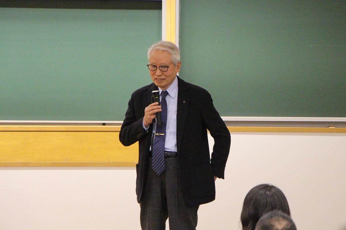 熊谷崇先生(日吉歯科診療所理事長)